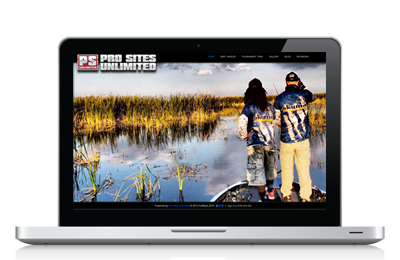Responsive Angler Websites powered by Pro Sites Unlimited
